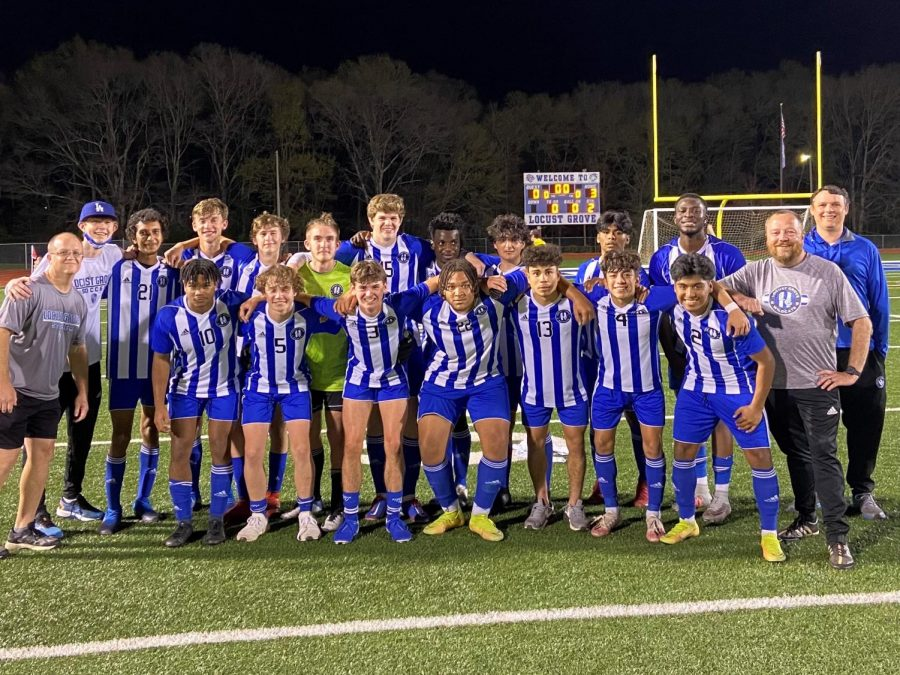 Boys' Soccer Captures First Region Championship